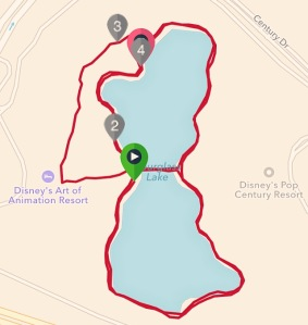 white glove 5k route