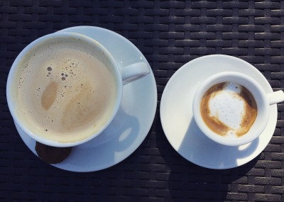 featured: flat white and doppio