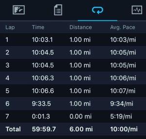 #wdwhalf - 6 mile run