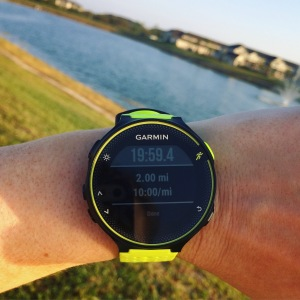 steady consistent pace, gearing up for #gasparillahalf