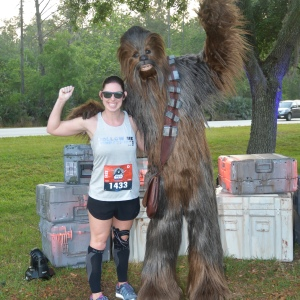 chewbacca on the race course